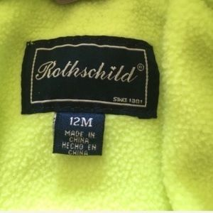 Rothschild Jackets & Coats - Rothschild Brown Purple Green Jacket Girl 12 Month